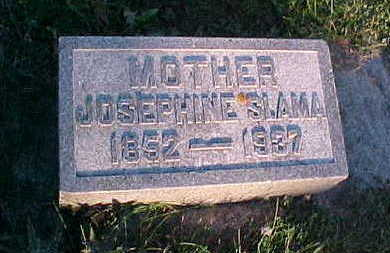 SLAMA, JOSEPHINE - Howard County, Iowa | JOSEPHINE SLAMA