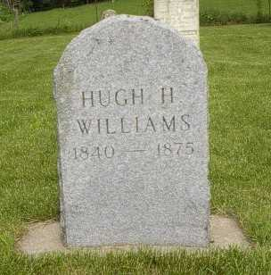 WILLIAMS, HUGH H. - Howard County, Iowa | HUGH H. WILLIAMS