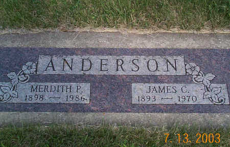 ANDERSON, JAMES B. - Humboldt County, Iowa | JAMES B. ANDERSON