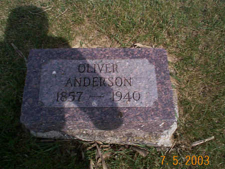 ANDERSON, OLIVER - Humboldt County, Iowa | OLIVER ANDERSON