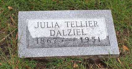 TELLIER DALZIEL, JULIA - Humboldt County, Iowa | JULIA TELLIER DALZIEL