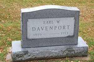 DAVENPORT, EARL W. - Humboldt County, Iowa | EARL W. DAVENPORT