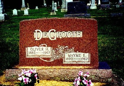DE GROOTE, OLIVER H. - Humboldt County, Iowa | OLIVER H. DE GROOTE