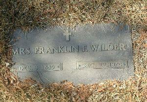 FRENCH, MRS. FRANKLIN - Humboldt County, Iowa | MRS. FRANKLIN FRENCH