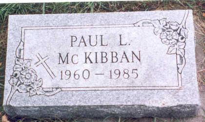 MCKIBBAN, JR., PAUL LAVERNE - Humboldt County, Iowa | PAUL LAVERNE MCKIBBAN, JR.