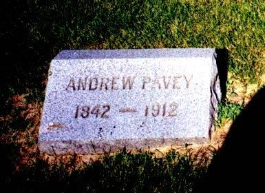 PAVEY, ANDREW - Humboldt County, Iowa | ANDREW PAVEY