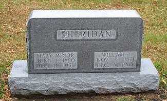 MINOR SHERIDAN, MARY - Humboldt County, Iowa | MARY MINOR SHERIDAN
