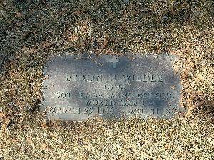 WILDER, BYRON H. - Humboldt County, Iowa | BYRON H. WILDER