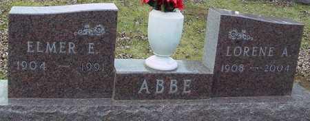 ABBE, LORENE A. - Ida County, Iowa | LORENE A. ABBE