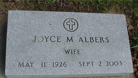 ALBERS, JOYCE M. - Ida County, Iowa | JOYCE M. ALBERS