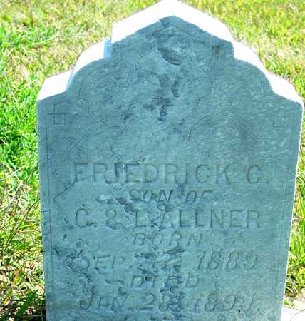 ALLNER, FRIEDRICK C. - Ida County, Iowa | FRIEDRICK C. ALLNER
