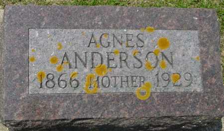 ANDERSON, AGNES - Ida County, Iowa | AGNES ANDERSON