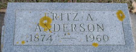 ANDERSON, FRITZ A. - Ida County, Iowa | FRITZ A. ANDERSON
