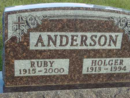 ANDERSON, HOLGER & RUBY - Ida County, Iowa | HOLGER & RUBY ANDERSON