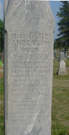 ANDERSON, JOSIE - Ida County, Iowa | JOSIE ANDERSON
