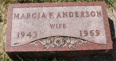 ANDERSON, MARCIA F. - Ida County, Iowa | MARCIA F. ANDERSON