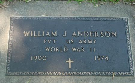 ANDERSON, WILLIAM J. - Ida County, Iowa | WILLIAM J. ANDERSON