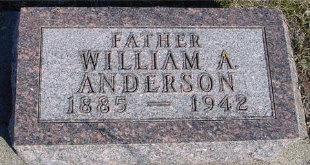 ANDERSON, WILLIAM A. - Ida County, Iowa | WILLIAM A. ANDERSON