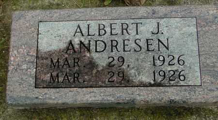 ANDRESEN, ALBERT J. - Ida County, Iowa | ALBERT J. ANDRESEN