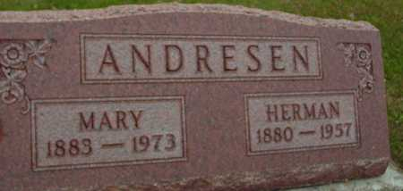 ANDRESEN, HERMAN & MARY - Ida County, Iowa | HERMAN & MARY ANDRESEN