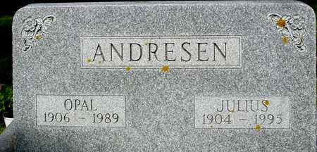 ANDRESEN, JULIUS & OPAL - Ida County, Iowa | JULIUS & OPAL ANDRESEN