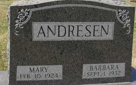 ANDRESEN, MARY & BARBARA - Ida County, Iowa | MARY & BARBARA ANDRESEN