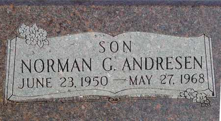 ANDRESEN, NORMAN G. - Ida County, Iowa | NORMAN G. ANDRESEN
