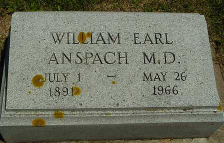 ANSPACH, WILLIAM EARL - Ida County, Iowa | WILLIAM EARL ANSPACH