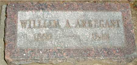 ARBEGAST, WILLIAM A. - Ida County, Iowa | WILLIAM A. ARBEGAST