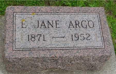 ARGO, E. JANE - Ida County, Iowa | E. JANE ARGO