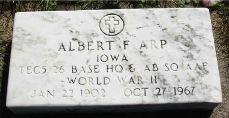 ARP, ALBERT  F. - Ida County, Iowa | ALBERT  F. ARP