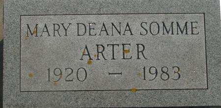 SOMME ARTER, MARY DEANA - Ida County, Iowa | MARY DEANA SOMME ARTER