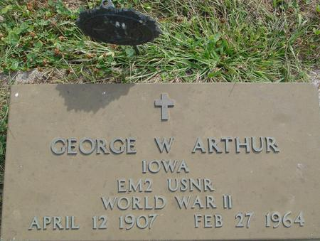ARTHUR, GEORGE W. - Ida County, Iowa | GEORGE W. ARTHUR