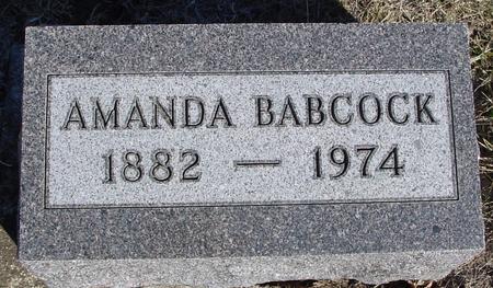 BABCOCK, AMANDA - Ida County, Iowa | AMANDA BABCOCK