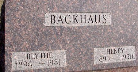 BACKHAUS, HENRY & BLYTHE - Ida County, Iowa | HENRY & BLYTHE BACKHAUS