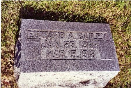 BAILEY, EDWARD - Ida County, Iowa | EDWARD BAILEY