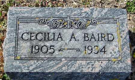 BAIRD, CECILIA A. - Ida County, Iowa | CECILIA A. BAIRD