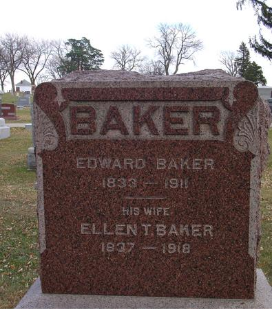 BAKER, EDWARD - Ida County, Iowa | EDWARD BAKER