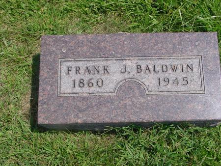 BALDWIN, FRANK J. - Ida County, Iowa | FRANK J. BALDWIN