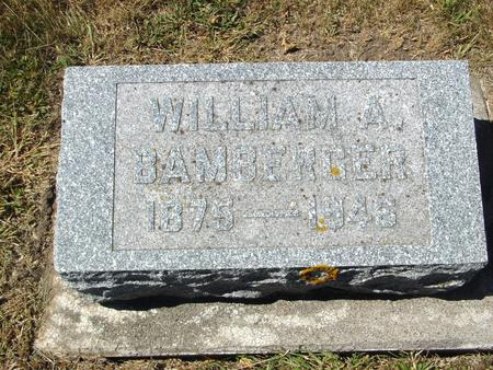 BAMBERGER, WILLIAM A. - Ida County, Iowa | WILLIAM A. BAMBERGER