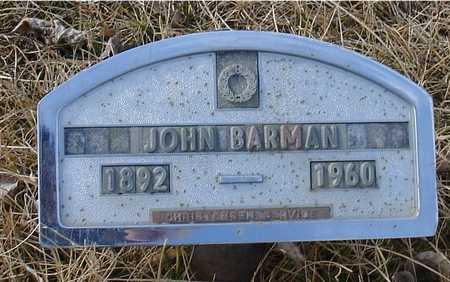 BARMAN, JOHN - Ida County, Iowa | JOHN BARMAN