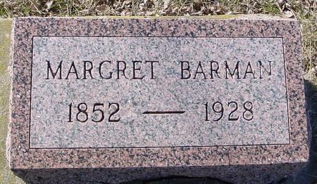 BARMAN, MARGRET - Ida County, Iowa | MARGRET BARMAN