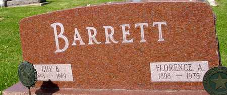 BARRETT, GUY B. & FLORENCE - Ida County, Iowa | GUY B. & FLORENCE BARRETT