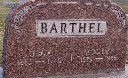 BARTHEL, ADOLPH & OLGA - Ida County, Iowa | ADOLPH & OLGA BARTHEL