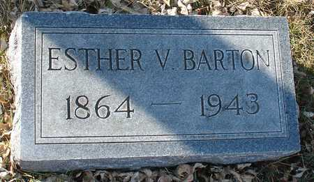 BARTON, ESTHER V. - Ida County, Iowa | ESTHER V. BARTON