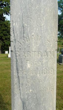 BARTRAM, JOHAN F. - Ida County, Iowa | JOHAN F. BARTRAM