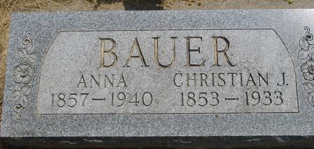 BAUER, CHRISTIAN - Ida County, Iowa | CHRISTIAN BAUER