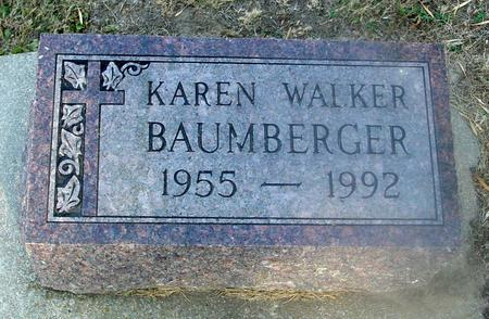 WALKER BAUMBERGER, KAREN - Ida County, Iowa | KAREN WALKER BAUMBERGER