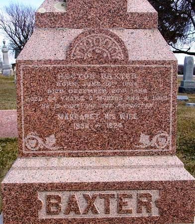 BAXTER, HECTOR - Ida County, Iowa | HECTOR BAXTER