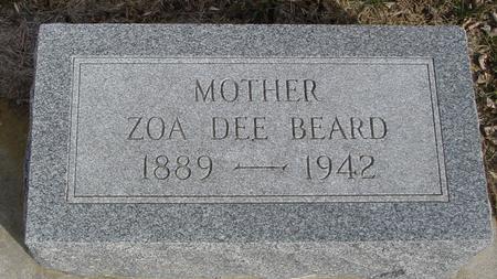 BEARD, ZOA DEE - Ida County, Iowa | ZOA DEE BEARD